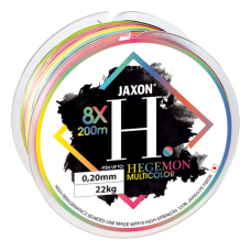 Леска плетёная Jaxon HEGEMON 8X MULTICOLOR BRAIDED LINE