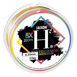 Леска плетёная Jaxon HEGEMON 8X MULTICOLOR BRAIDED LINE